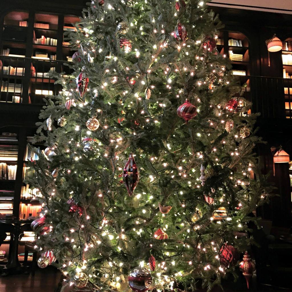 The NoMad Hotel NYC Holiday Christmas Decorations