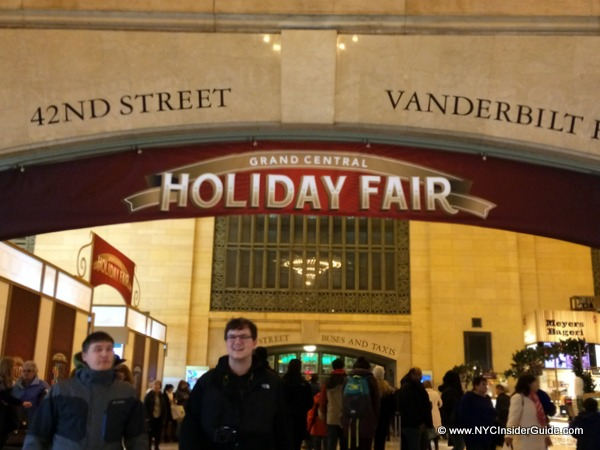 NYC Christmas Markets Shopping Tour