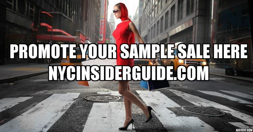 Promote Sample Sale NYC