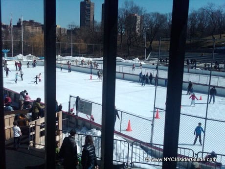 Central Park Ice Skating North Rink