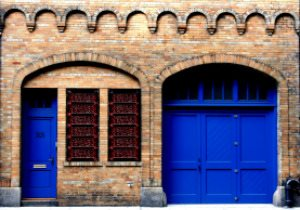 Greenwich-Village-Blue-Doors-Alley