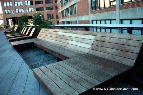 Highline NYC Benches