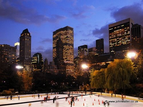 Ice Skating New York City | Central Park