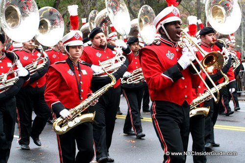 Thanksgiving Day Parade Band