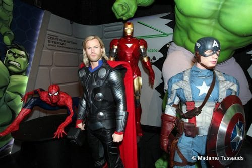 Madame Tussauds Marvel Super Heroes
