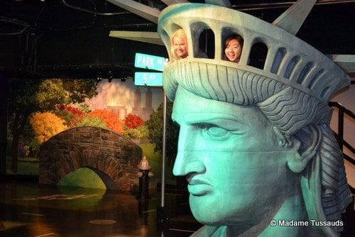 Madame Tussauds Statue of Liberty