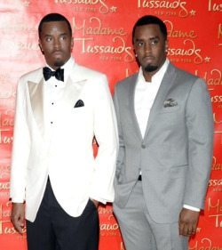 Madame Tussauds Wax Museum Diddy