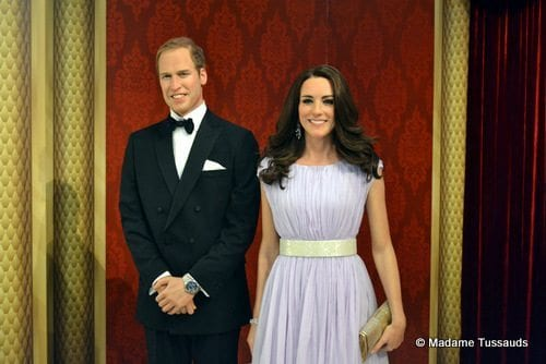 Madame Tussauds William and Kate