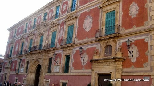 Murcia Spain Mediterrean Style Building