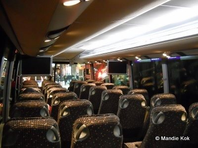 NYC Holiday Tour Bus