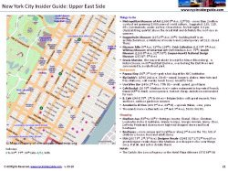 NYC Manhattan Street Map