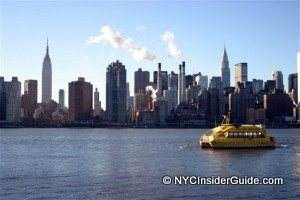 FREE Water Taxi To Yankee Stadium