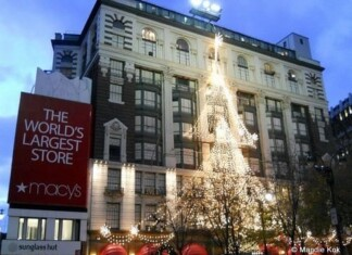 New York City Holiday Lights Tours Macy's