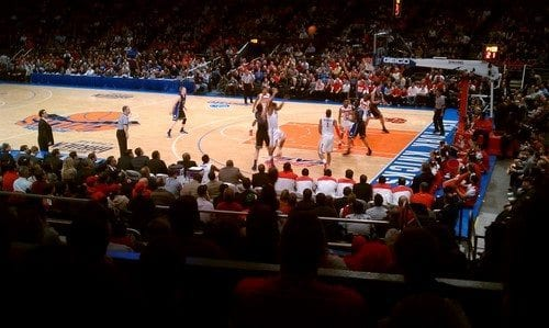 New York Knicks at MSG