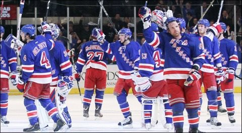 New York Rangers at MSG