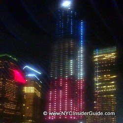 One World Trade Center Night NYC