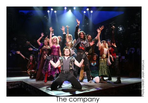 Rock of Ages Broadway Musical