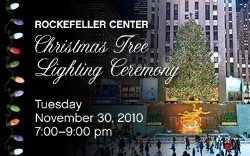 Rockefeller Center Christmas Tree Lighting 2010