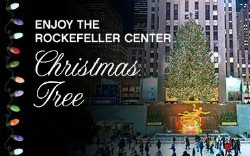 Rockefeller Center Christmas Tree Lighting 2012