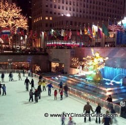 Ice Skating New York City | Rockefeller Center