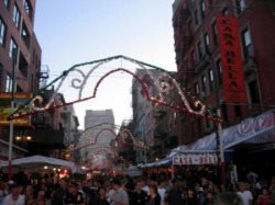 San Gennaro Little Italy NYC