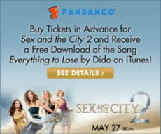 Free song download with Sex and the City 2 tix
