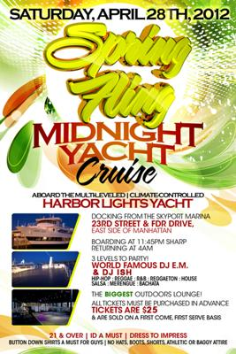 Spring Fling Midnight Yacht Cruise