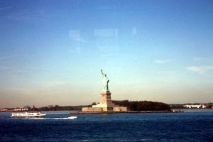 Statue of Liberty Ferry View