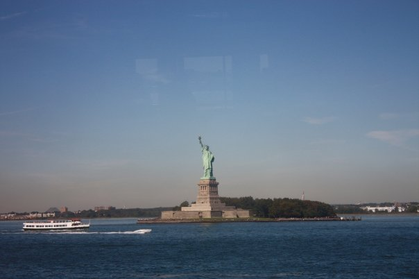 NYC with Lady Liberty
