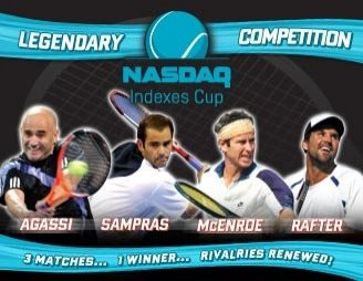 Agassi, Sampras, McEnroe & Rafter - Tennis at MSG