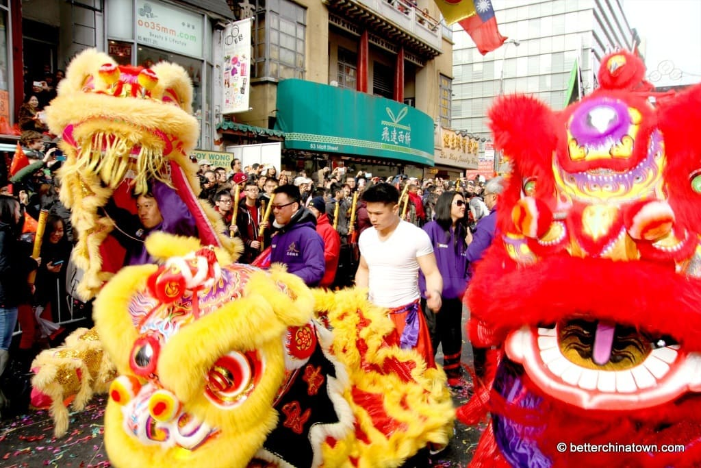 Chinese New Year's Day - Chinatown NYC