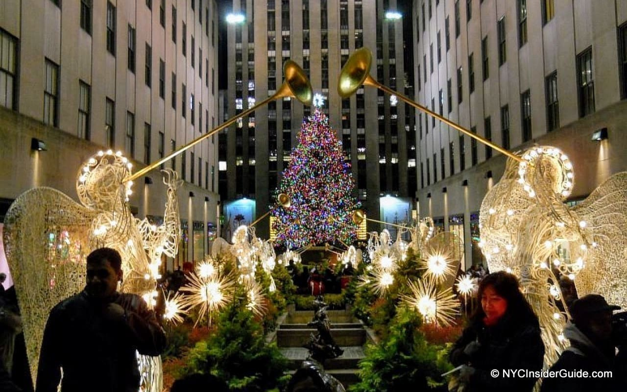 Christmas Tree Lighting Rockefeller Center 2018