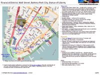 Financial District NYC Printable Map