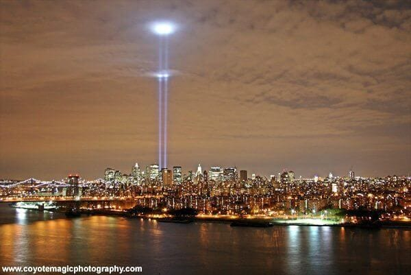 Tribute in Light World Trade Center NYC
