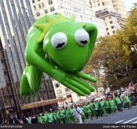 Macy's Thanksgiving Day Parade Kermit