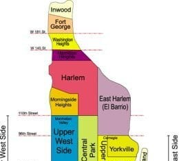 Manhattan Neighborhood Map