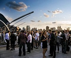 The MET NYC | Roof Garden Café Martini Bar