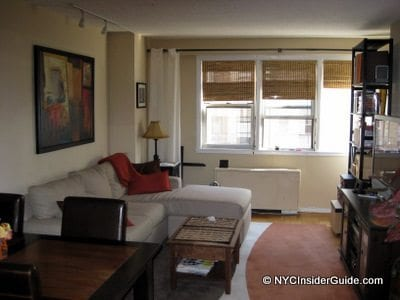 NYC Vacation Rentals - Living Area