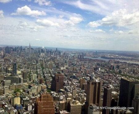 View from One World Trade Center