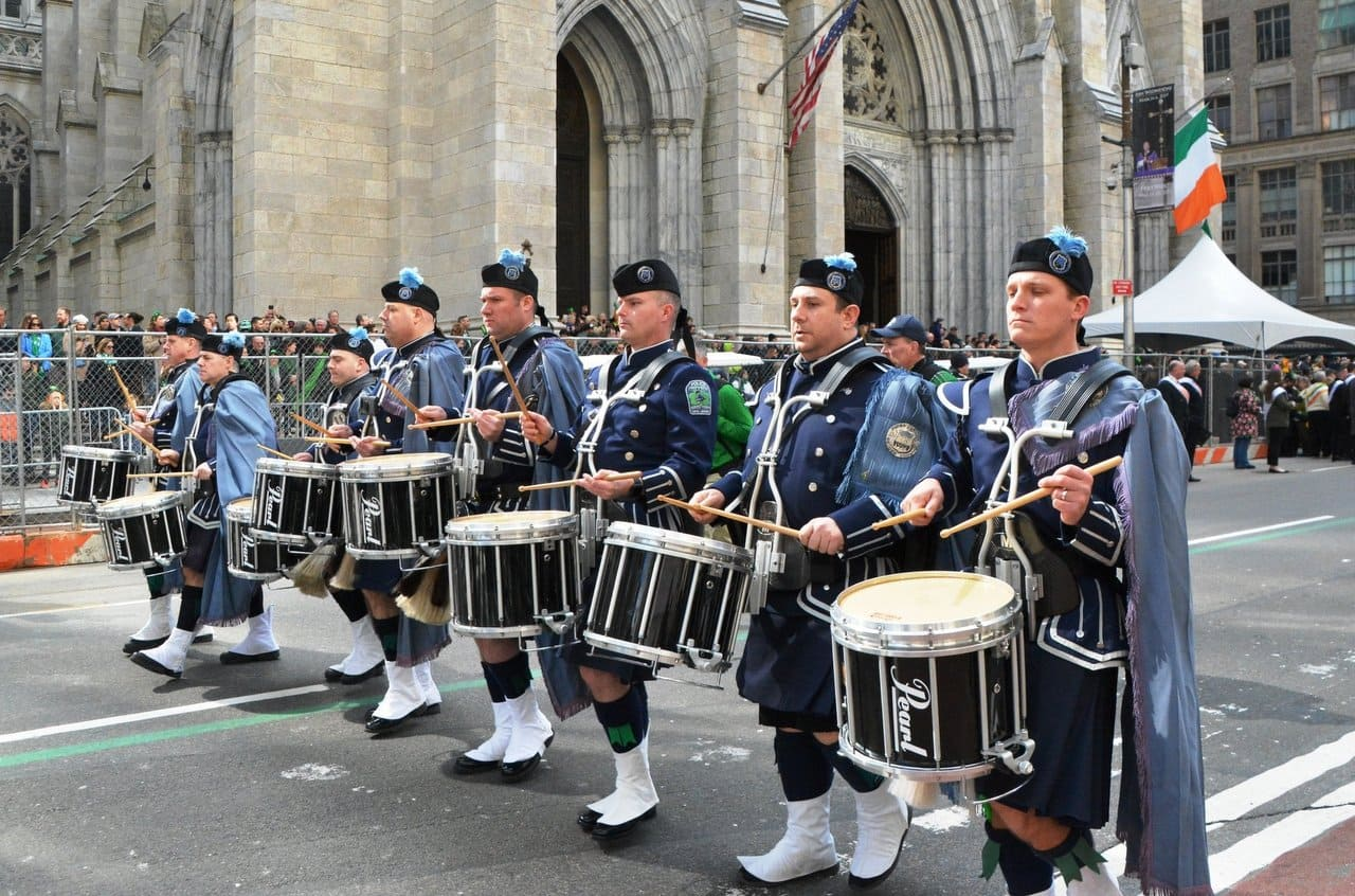 St Patricks Day in New York City