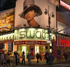 Times Square Swatch