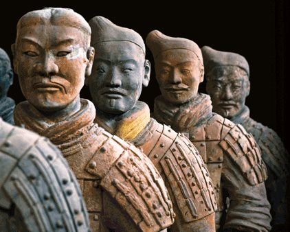 Terracotta Warriors Exhibit at Discovery Center