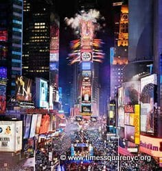 Times Square New Years Eve NYC