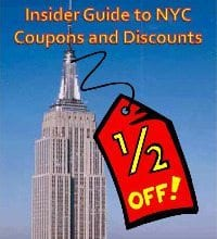 New York City Tour Coupons