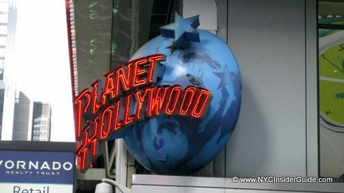 Times Square Planet Hollywood
