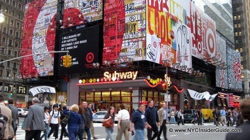 Visit Times Square with Kids