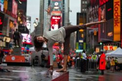 Times Square Yoga Elena Brower