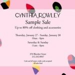 Cynthia Rowley Sample Sale