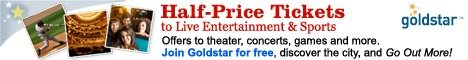 Half Price NYC Tickets GoldStar