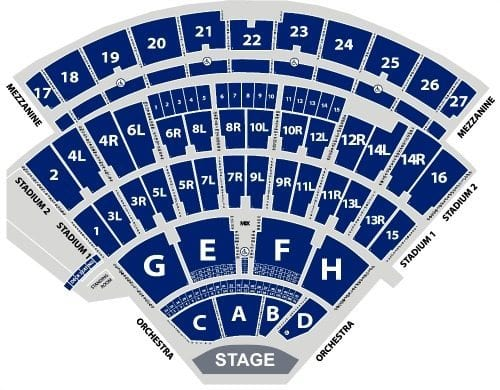Jones Beach Concerts Seating Chart